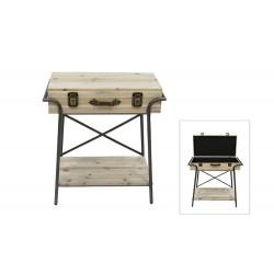 Mesa maleta pequeña colección Industrial