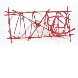 Bolsa  2 estructuras rectangular