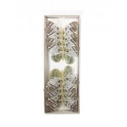 Caja de 12 mariposas surtidas