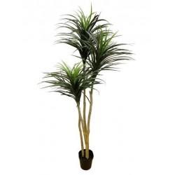 Planta dracaena x 4 de plástico 185 cm