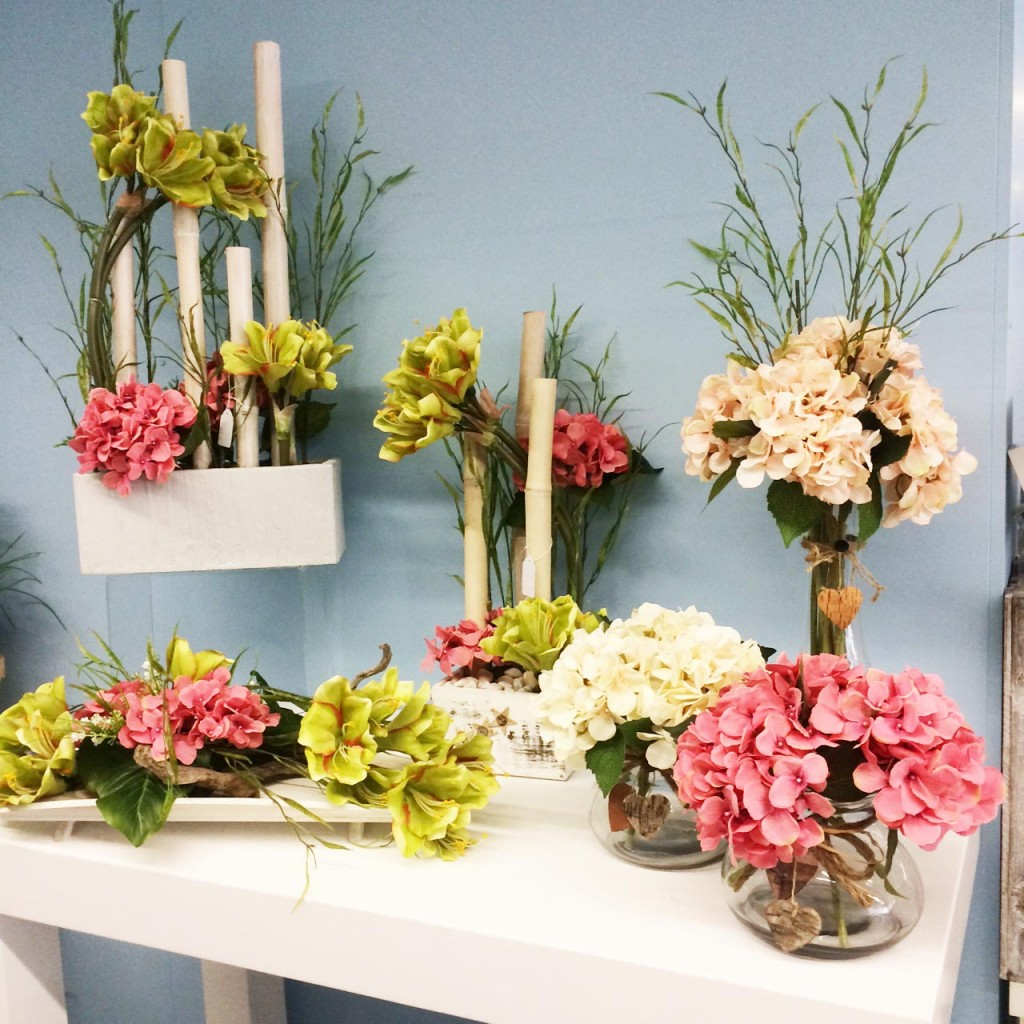 Ideas centros flor artificial